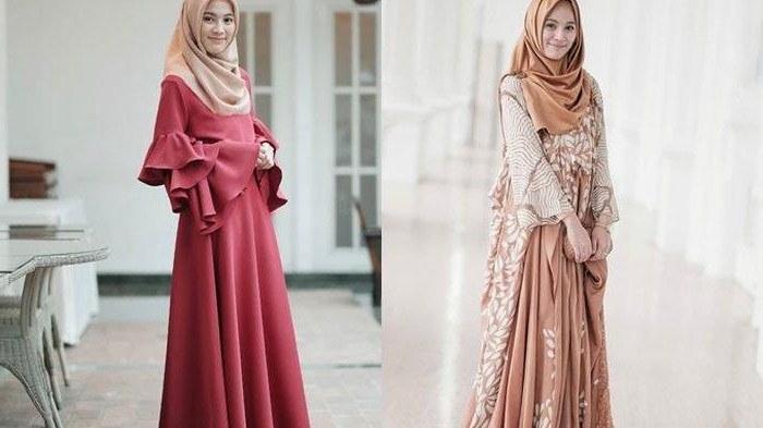 Bentuk Koleksi Baju Lebaran 2019 Dwdk Model Baju Gamis Terbaru Lebaran 2019