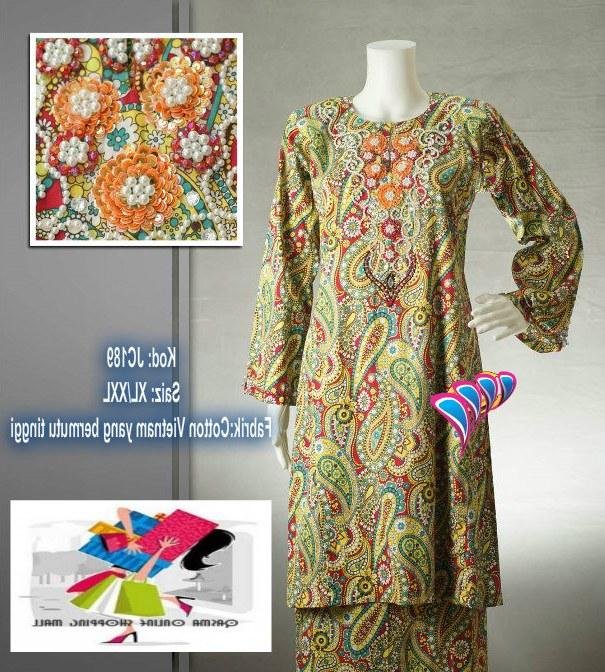 Bentuk Koleksi Baju Lebaran Rldj Qasma Shoppe Koleksi Baju Kurung Untuk Lebaran Kini Tiba