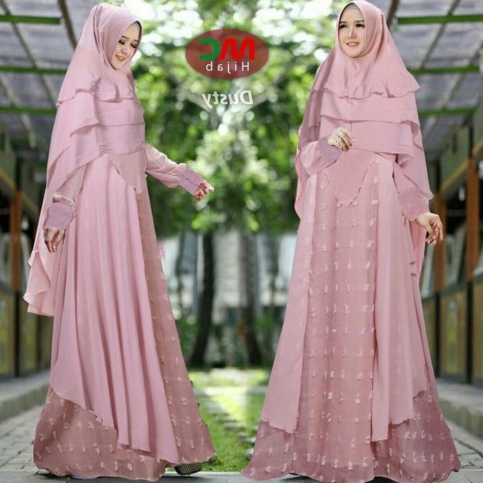 Bentuk Koleksi Baju Lebaran Zwdg Model Baju Lebaran 2018 Colosa Pink
