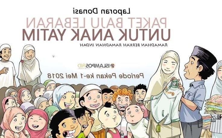 Bentuk Meme Baju Lebaran D0dg Laporan Perpekan islamposaid Berbagi Baju Lebaran Bulan