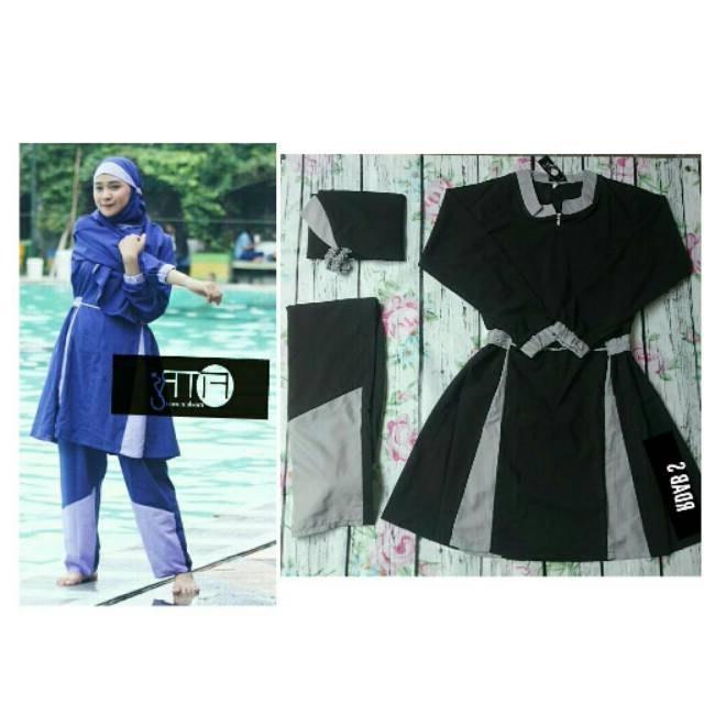 Bentuk Model Baju Lebaran atas Bawah Drdp Baju Renang Model Rdab atas Bawah Size S 5l Muslimah