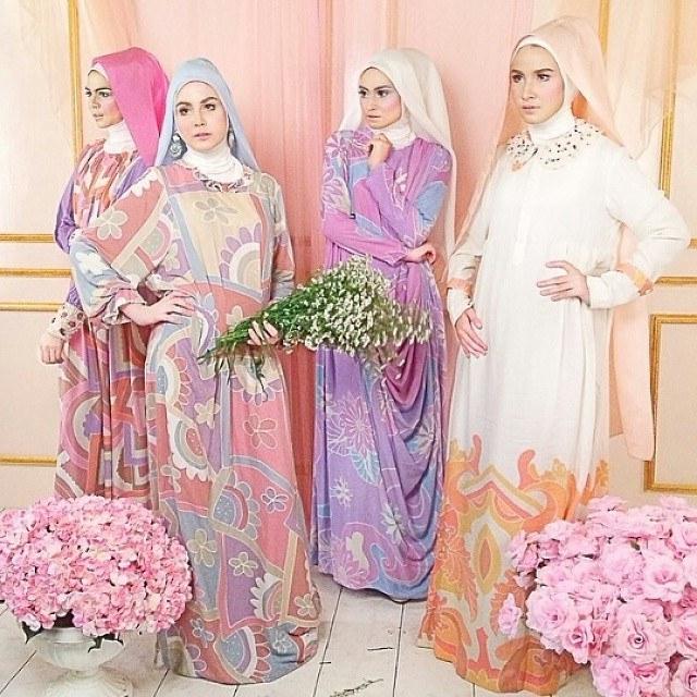 Bentuk Model Baju Lebaran Dian Pelangi 2018 Zwdg Trend Model Busana Muslim Dian Pelangi Edisi 2017