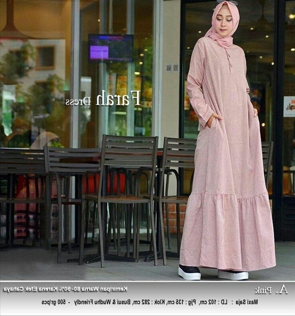 Bentuk Model Baju Lebaran Jaman Sekarang Budm 30 Model Gamis Polos Untuk Lebaran Fashion Modern Dan