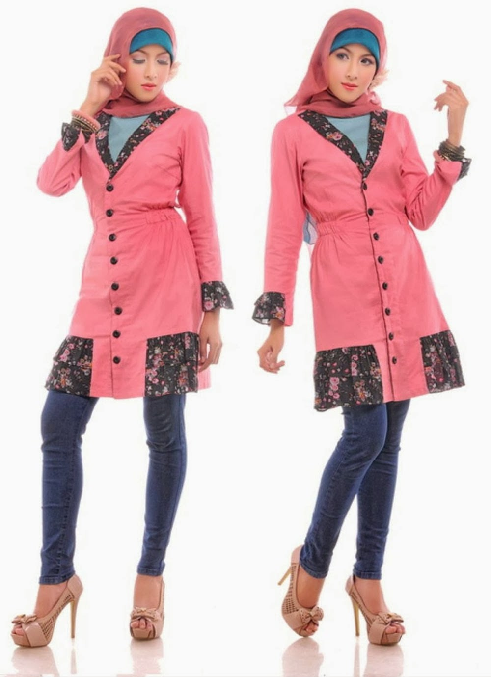 Bentuk Model Baju Lebaran Jaman Sekarang Y7du Model Baju Muslim Modern Terbaru 2016 Jaman Sekarang