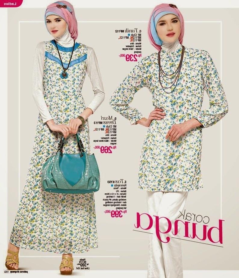 Bentuk Model Baju Lebaran Masa Kini T8dj Model Baju Wanita Modern Trend Lebaran Masa Kini