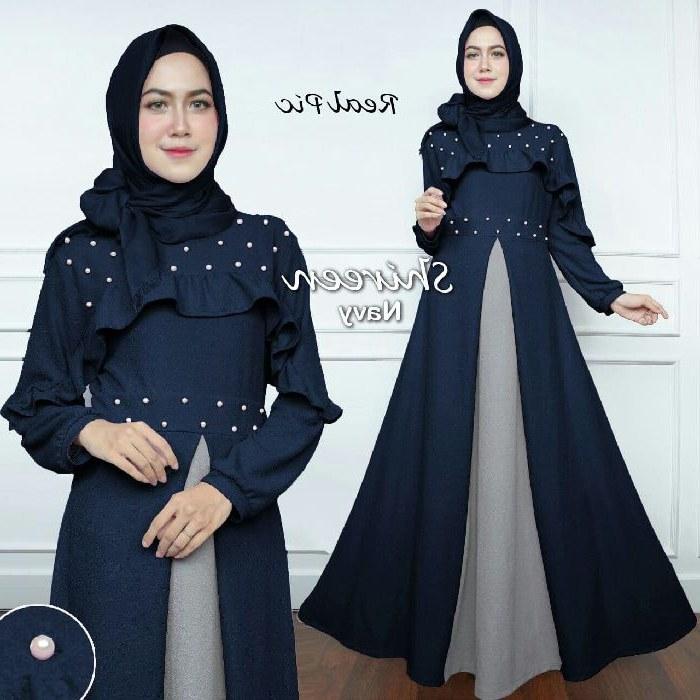 Bentuk Model Baju Lebaran Modern U3dh Baju Gamis Syari Lebaran Terbaru 2018 Shireen Gamissyari