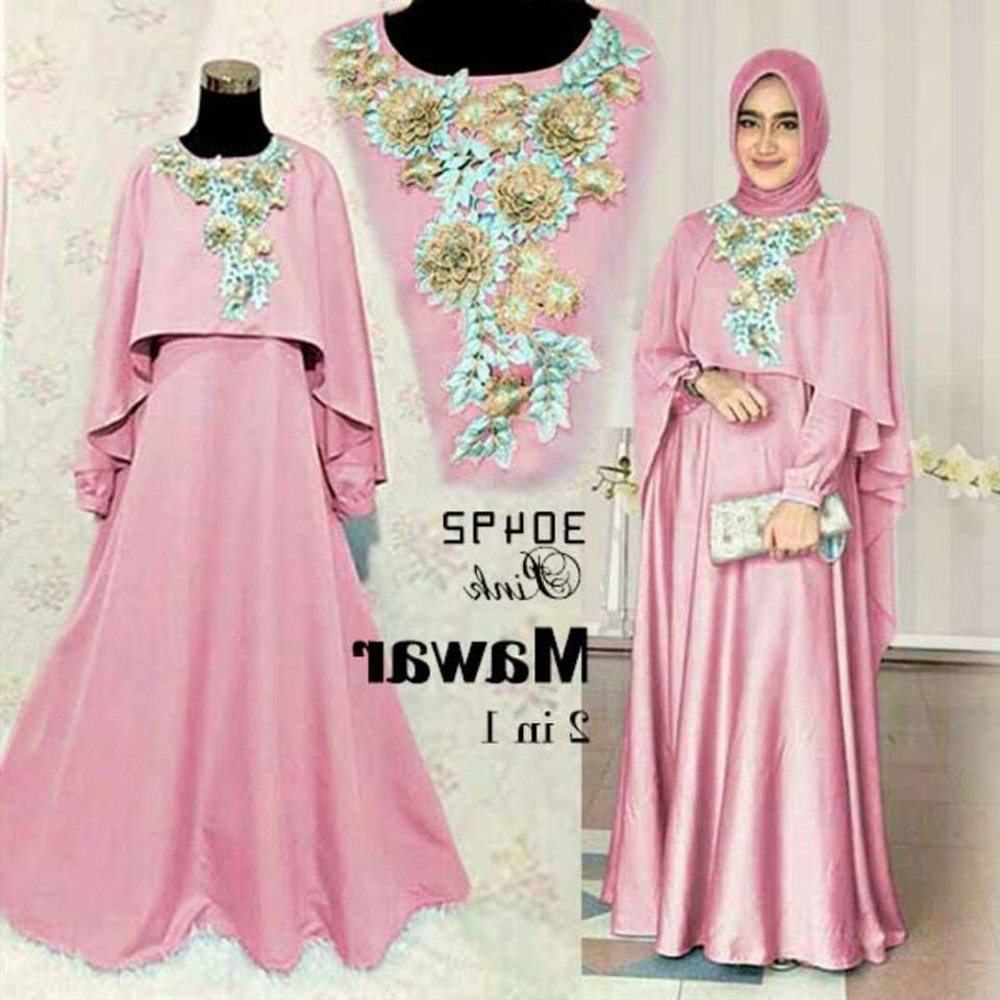 Bentuk Model Baju Lebaran Muslim Terbaru S5d8 Jual Baju Muslim Wanita Model Terbaru Gamis Lebaran Di