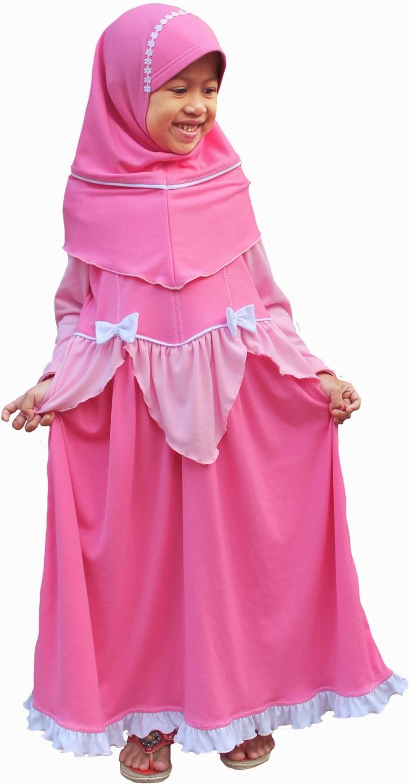 Bentuk Model Baju Lebaran Untuk Anak Perempuan T8dj Model Baju Muslim Anak Perempuan