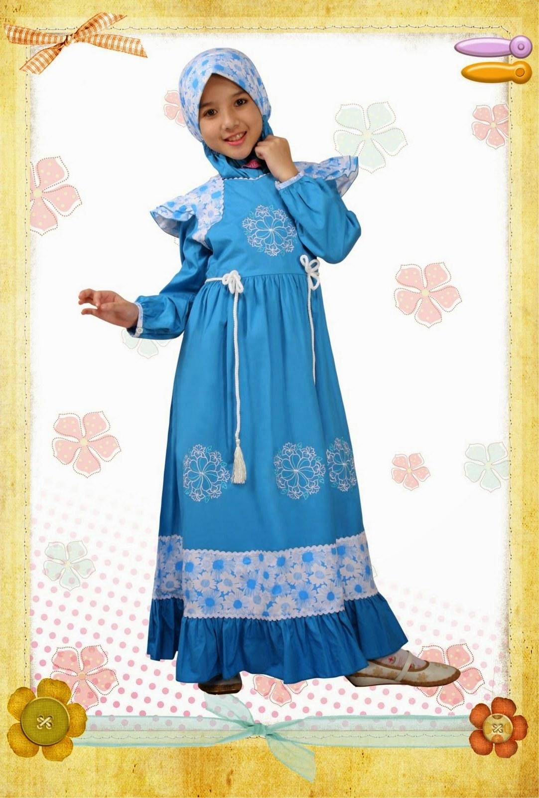 Bentuk Model Baju Lebaran Untuk Anak Perempuan U3dh Model Baju Pesta Muslim Anak Perempuan Model Baju Pesta