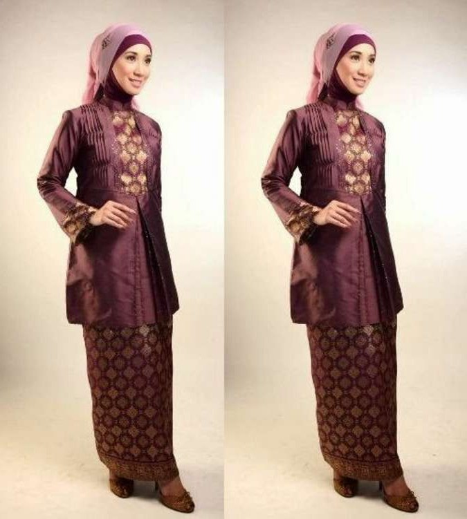Bentuk Model Baju Lebaran Untuk orang Gemuk J7do Model Baju Batik Untuk Lebaran