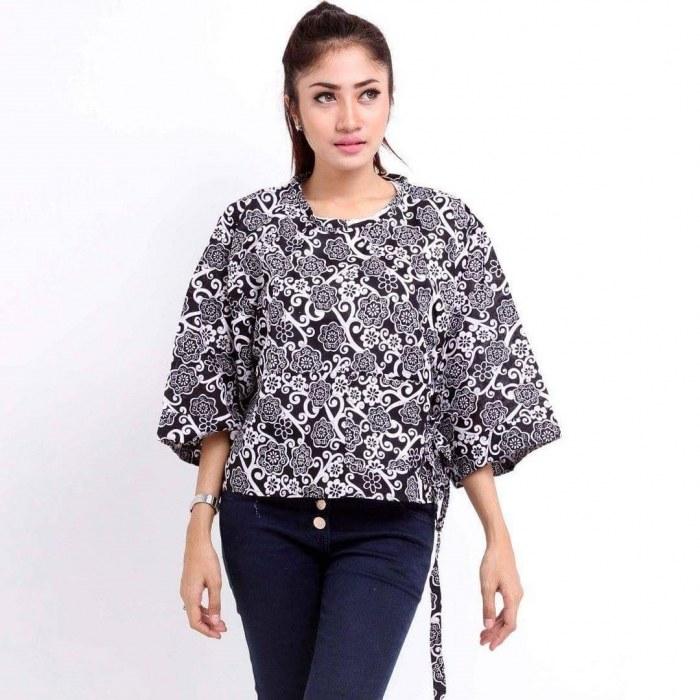 Bentuk Model Baju Lebaran Untuk orang Gemuk Zwd9 18 Model Baju Batik Untuk orang Gemuk Agar Terlihat
