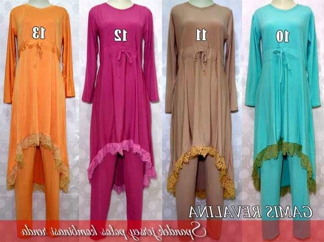 Bentuk Model Baju Lebaran Wanita Terbaru H9d9 Model Baju Busana Muslim Wanita Terbaru Untuk Lebaran 2015