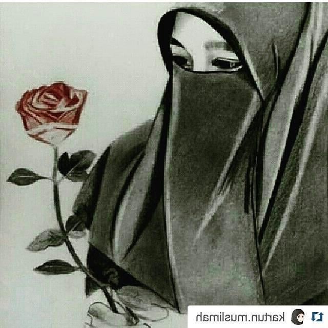 Bentuk Muslimah Bercadar Hitam Txdf Gambar Gambar Dp Bbm Muslimah Berhijab Terbaru Kata Humor