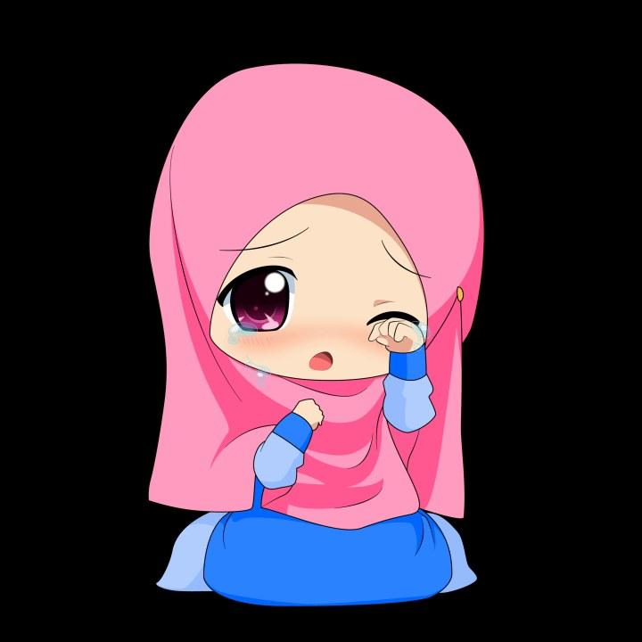 Bentuk Muslimah Kartun Menangis Jxdu Image Cartoon Muslimah Impremedia