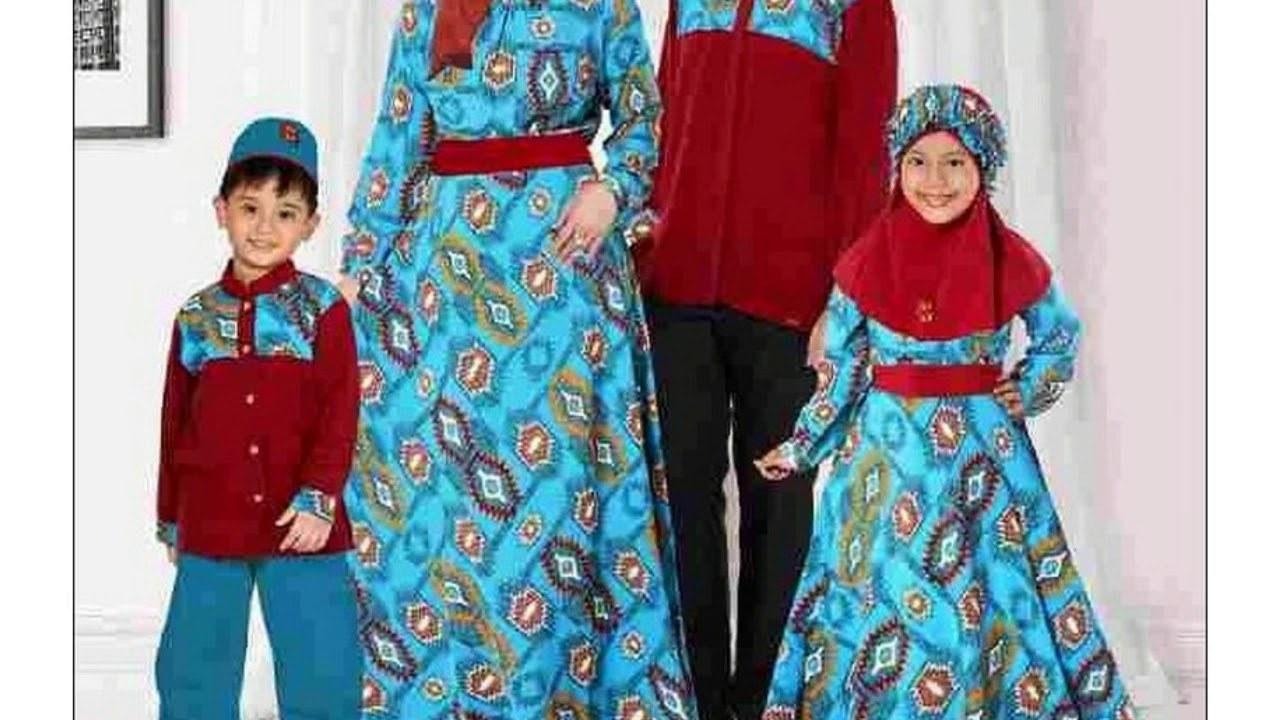 Bentuk Referensi Baju Lebaran Keluarga Ipdd Baju Batik Keluarga Buat Lebaran