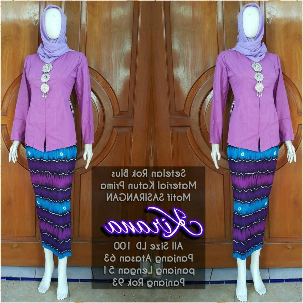 Bentuk Setelan Baju Lebaran Wanita Irdz Jual Baju Setelan Kebaya Modern Wanita Kirana Sasirangan