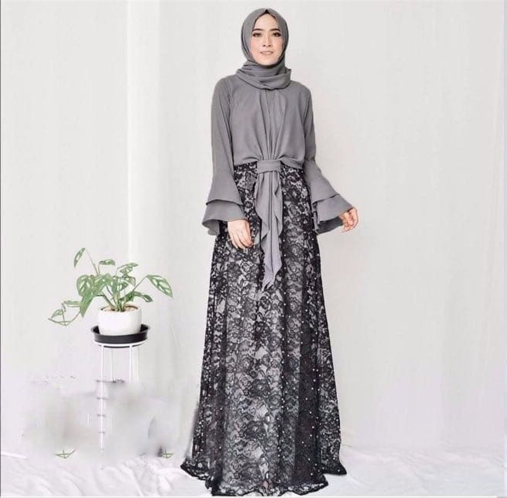 Bentuk Setelan Baju Lebaran Wanita Q0d4 Jual Setelan Hijab Fashion Baju Muslim Wanita Terbaru