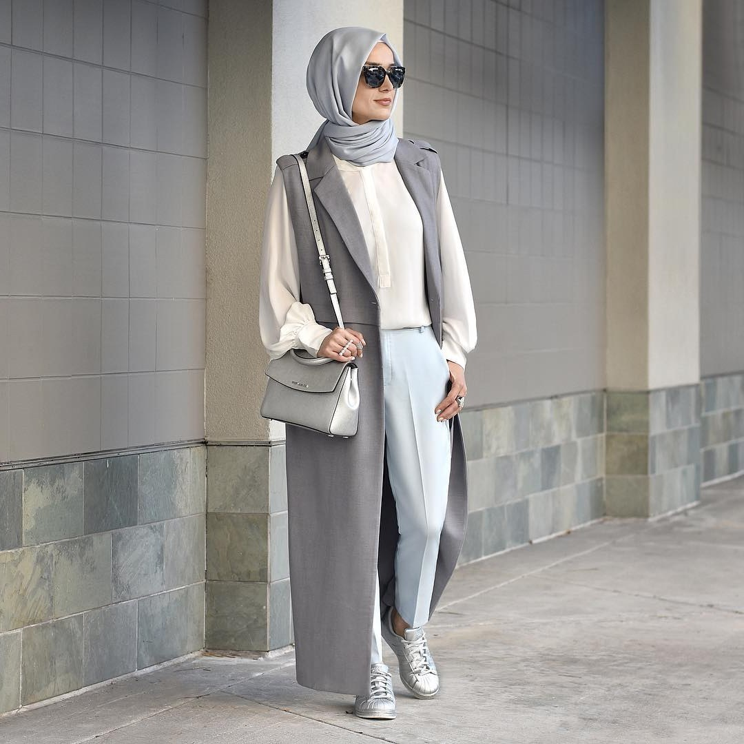 Bentuk Trend Baju Lebaran Wanita 2018 Dwdk 25 Trend Model Baju Muslim Lebaran 2018 Simple & Modis