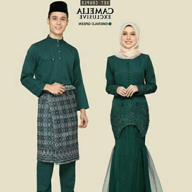 Design Baju Lebaran 2019 Shopee Q0d4 Set Couple Raya 2019 Baju Nikah Kawen Tunang Sanding