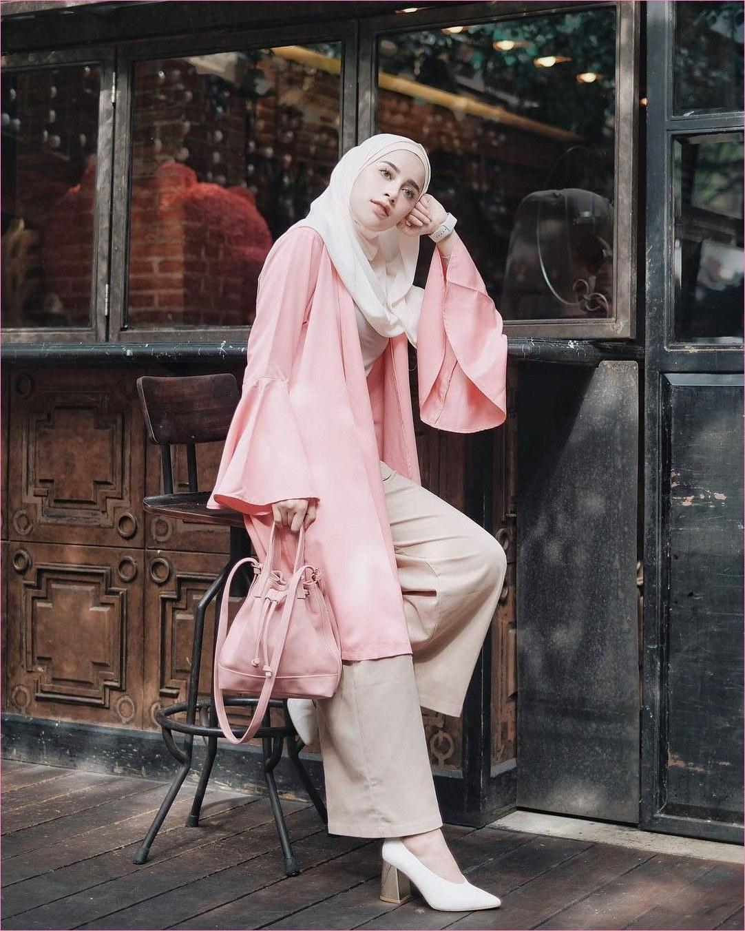 Design Baju Lebaran Ala Selebgram Zwdg Pin Di Hijab