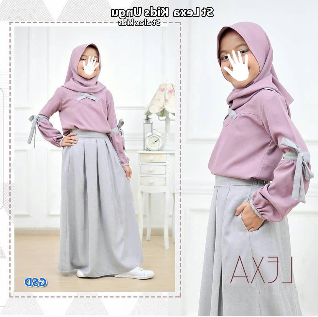 Design Baju Lebaran Anak Perempuan 87dx 30 Model Gamis Baju Anak Perempuan Fashion Modern Dan