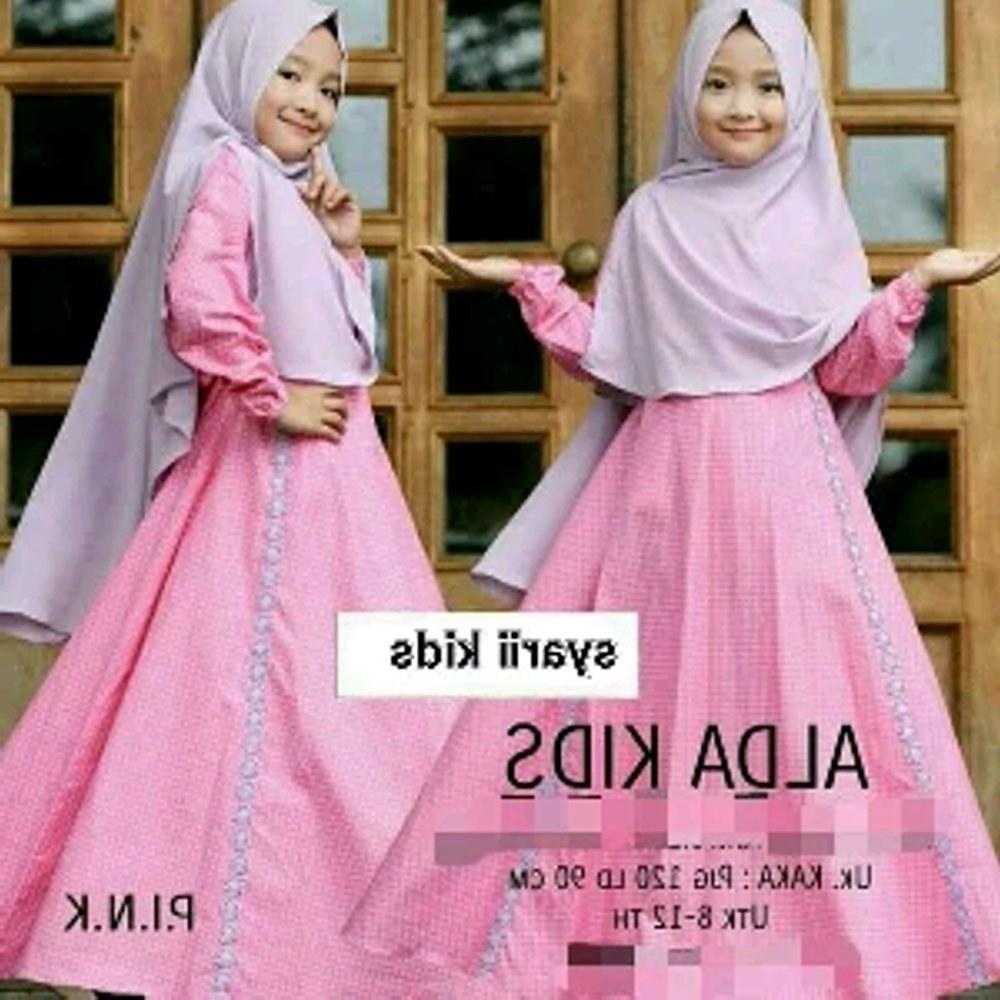 Design Baju Lebaran Anak Perempuan U3dh Model Baju Gamis Anak Perempuan Lucu Dan Cantik