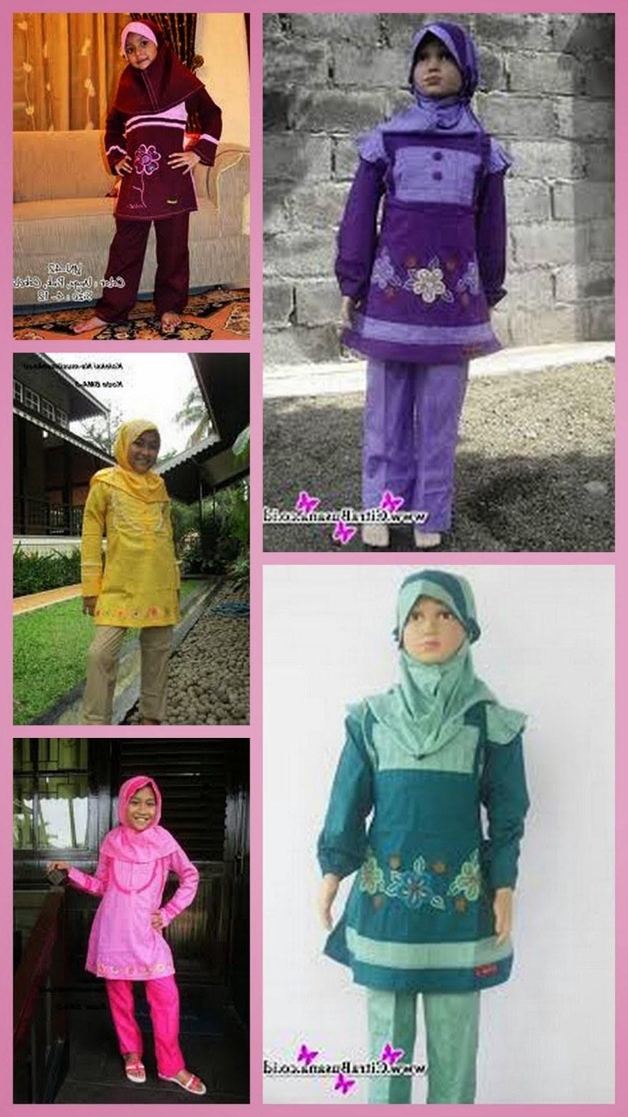 Design Baju Lebaran Anak Perempuan Umur 8 Tahun Etdg Baju Muslim Anak Wanita Usia 13 Tahun Untuk Lebaran