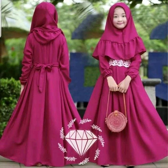 Design Baju Lebaran Anak Perempuan Umur 8 Tahun Nkde 30 Model Baju Gamis Anak Perempuan Umur 8 Tahun Fashion