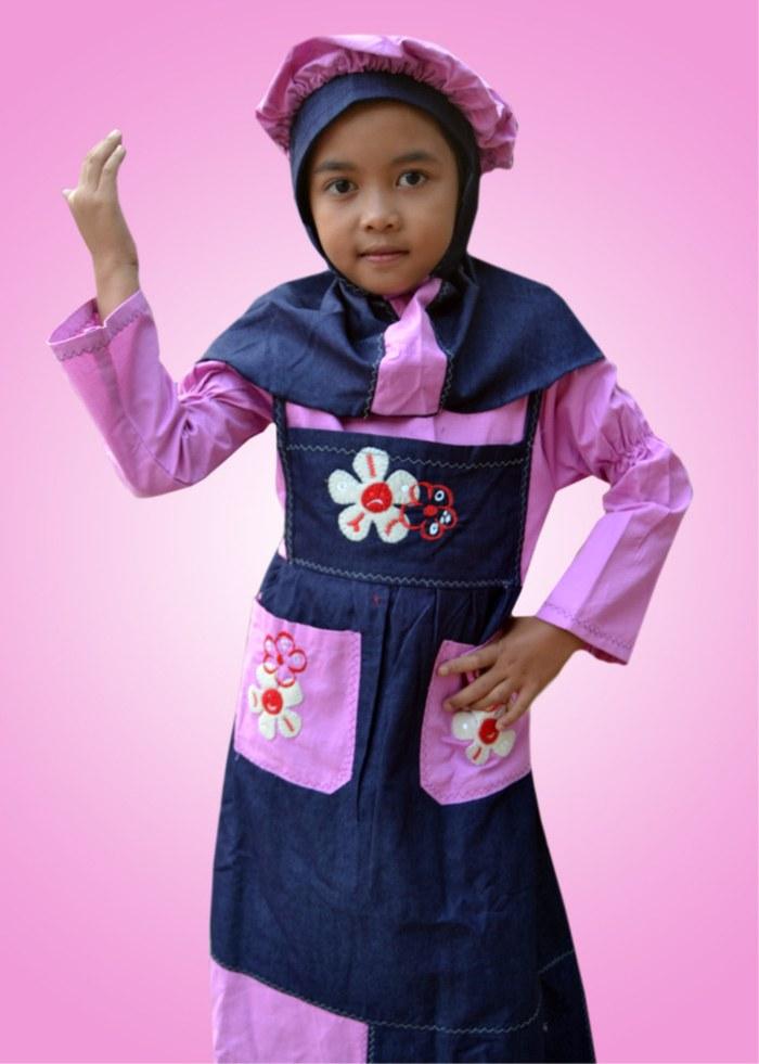 Design Baju Lebaran Anak Perempuan Umur 8 Tahun S5d8 Jual Baju Muslim Anak Wanita Umur 4 8 Tahun