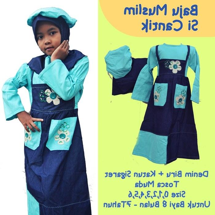 Design Baju Lebaran Anak Perempuan Umur 8 Tahun Zwd9 Jual Baju Muslim Anak Wanita Umur 4 8 Tahun
