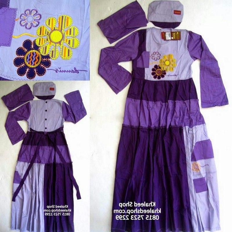 Design Baju Lebaran Anak Umur 11 Tahun 4pde Baju Muslim Anak Cewek P11m7 Size 11 Anak Cewek Untuk Usia