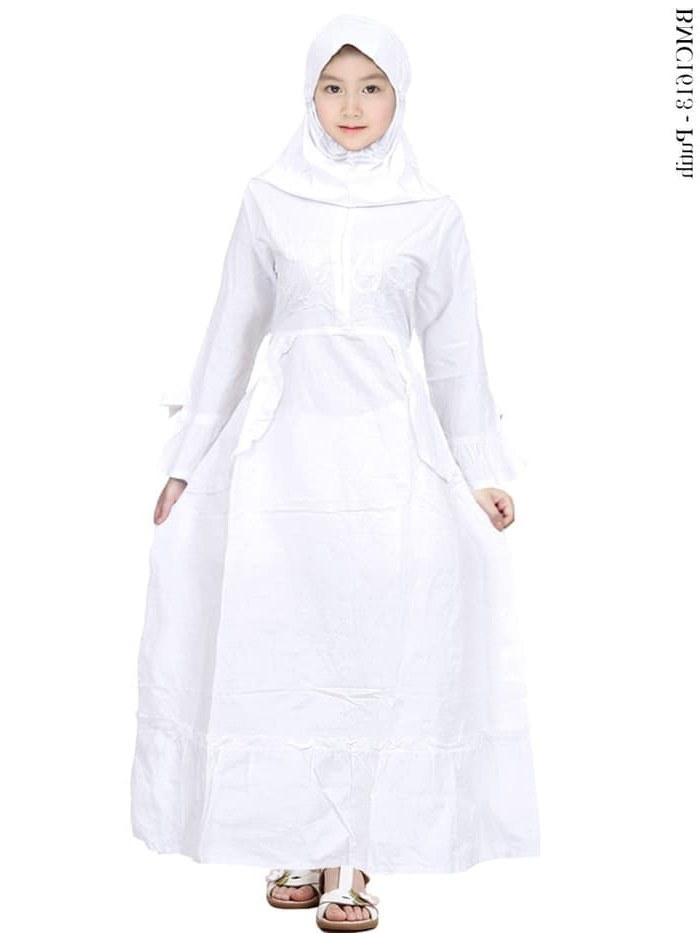 Design Baju Lebaran Anak Umur 11 Tahun Kvdd Jual Baju Muslim Gamis Anak Putih Remaja Tangung Umur 11