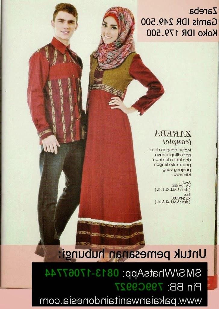 Design Baju Lebaran Cantik 3id6 Baju Lebaran Keluarga 2014 Paling Cantik