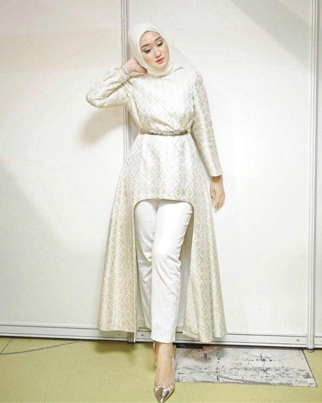 Design Baju Lebaran Celana Dan atasan 9fdy 14 Model Setelan Celana Untuk Kondangan Tampil formal