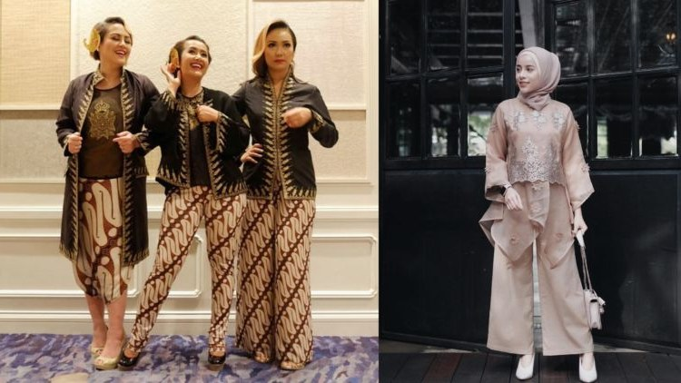 Design Baju Lebaran Celana Dan atasan H9d9 14 Model Setelan Celana Untuk Kondangan Tampil formal