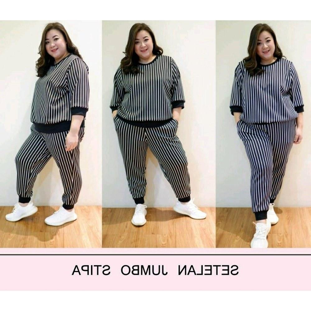 Design Baju Lebaran Celana Dan atasan Kvdd Jual Baju Setelan Wanita Jumbo atasan Dan Celana Bigsize