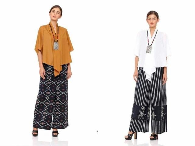 Design Baju Lebaran Celana Dan atasan S1du 14 Model Setelan Celana Untuk Kondangan Tampil formal