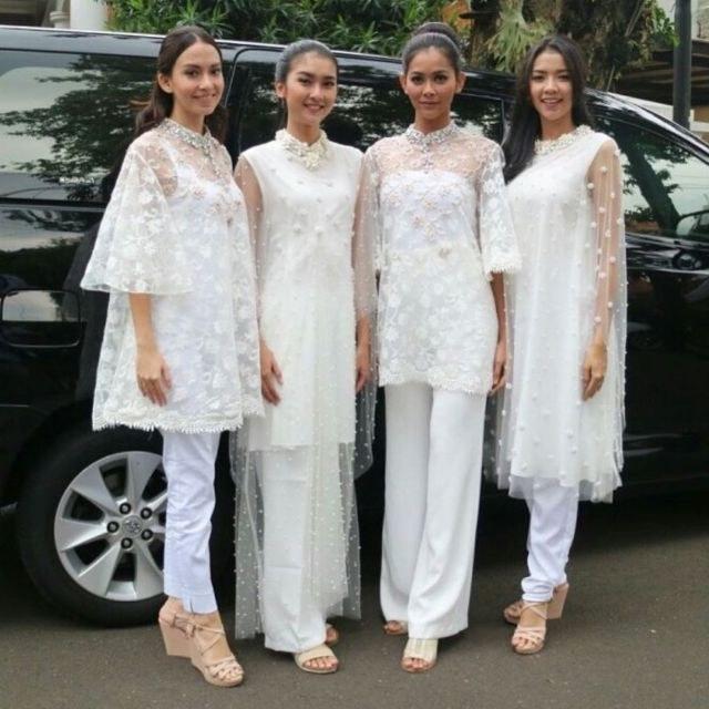 Design Baju Lebaran Celana Dan atasan Wddj 14 Model Setelan Celana Untuk Kondangan Tampil formal