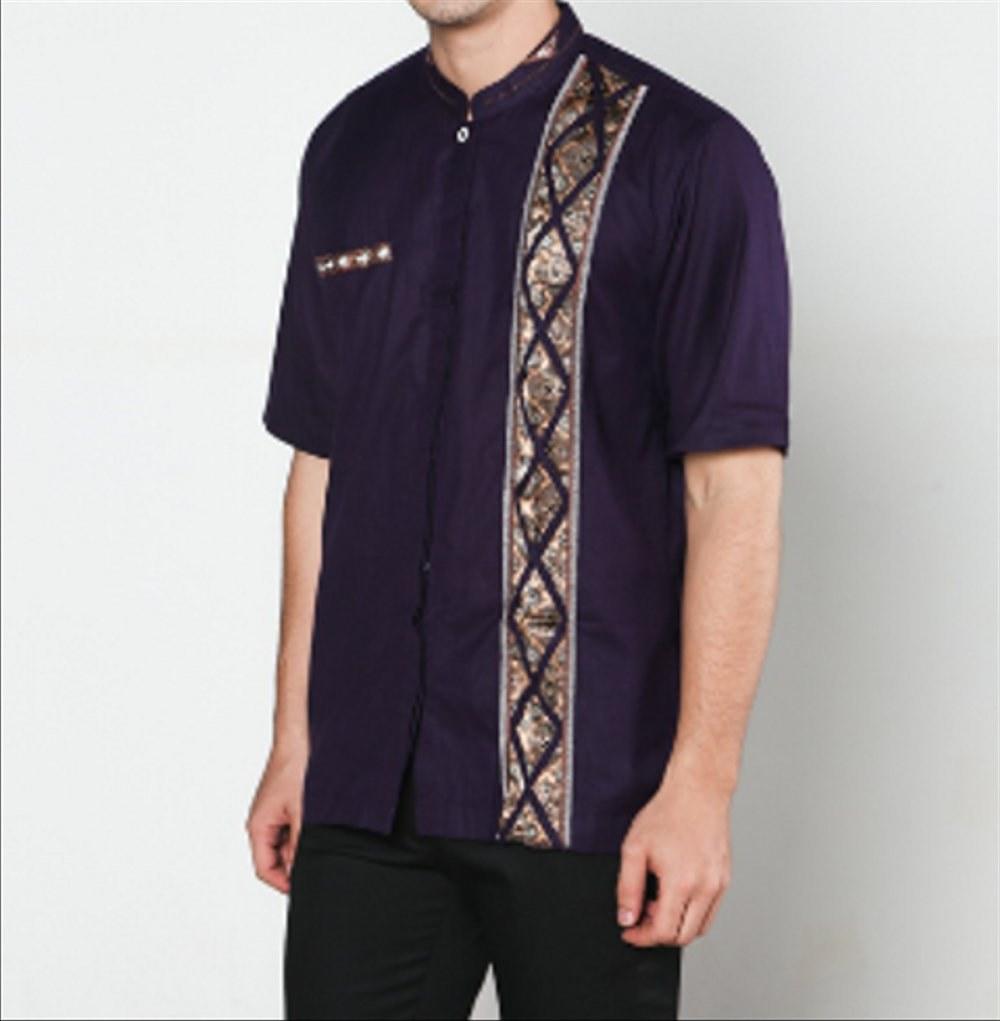 Design Baju Lebaran Dewasa 9fdy Jual Baju Koko Batik Dewasa Muslim Lebaran Lengan Pendek