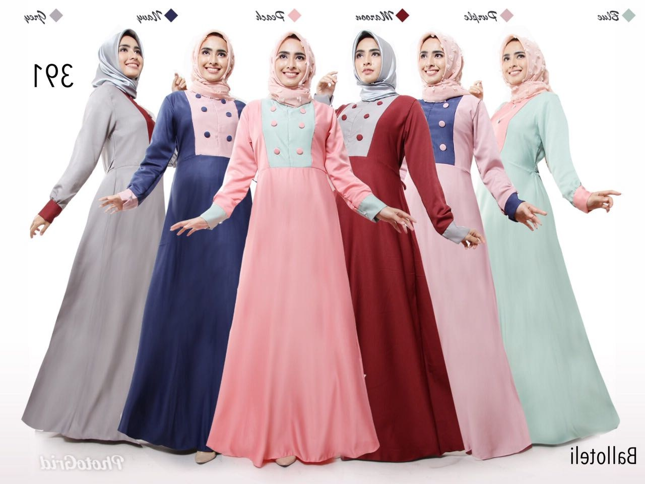 Design Baju Lebaran Hits Kvdd Baju Muslim Terbaru Yang Lagi Hits 2018