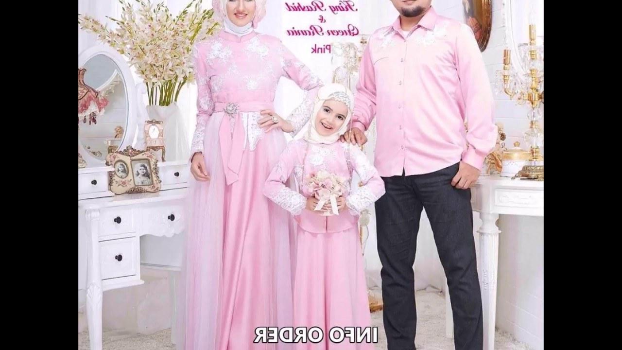 Design Baju Lebaran Keluarga Nkde Design Baju Lebaran Keluarga 2018 Baju Sarimbit Lebaran