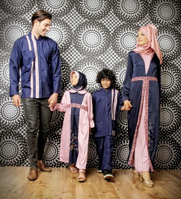 Design Baju Lebaran Keluarga Thdr 25 Model Baju Lebaran Keluarga 2018 Kompak & Modis