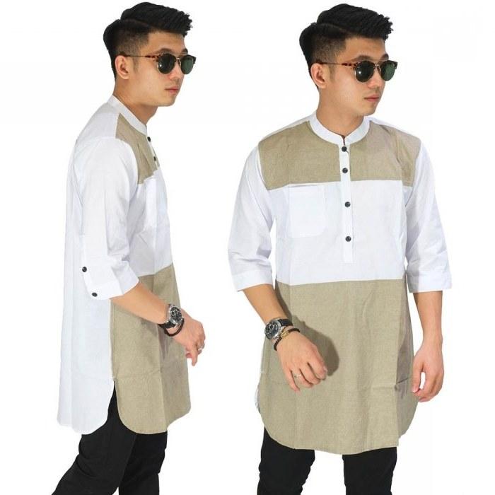 Design Baju Lebaran Pria Terbaru 2019 Fmdf Trend Fashion Pria 2019 Pakaian Baju Pria Terbaru