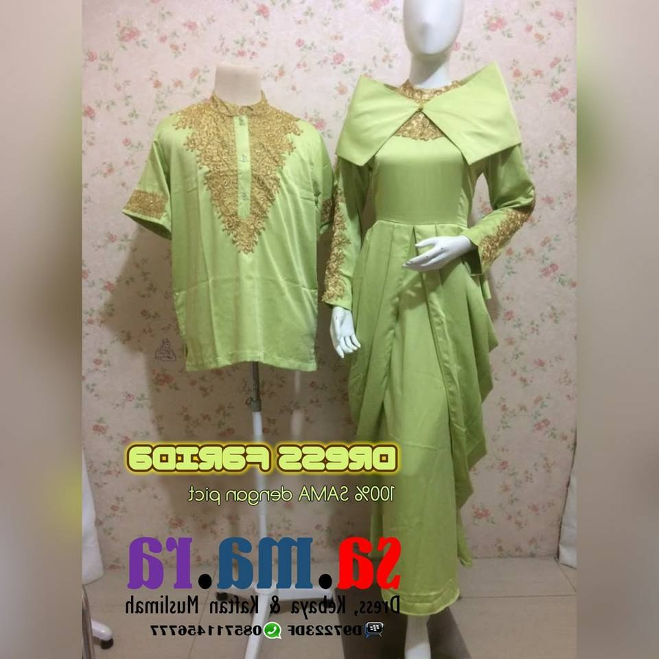 Design Baju Lebaran Seragam Budm Dress Seragam Pesta Keluarga Dress Farida Dicicil Untuk