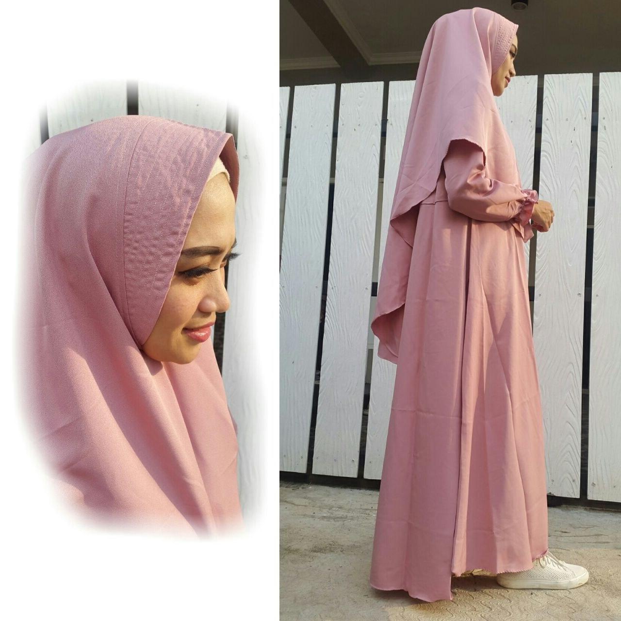 Design Baju Lebaran Terbaru Tanah Abang E9dx Jual Baju Gamis Madina Syar'i Flash Crepe Polos Sn1685