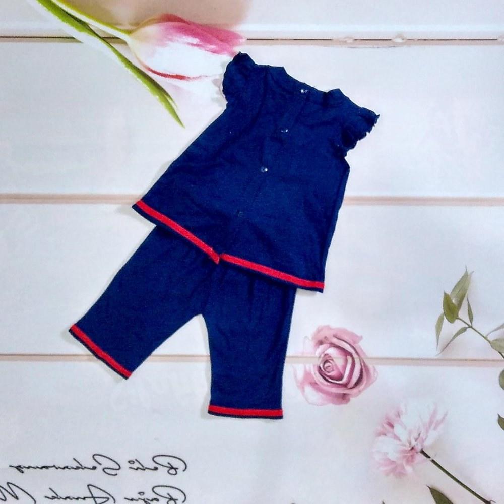 Design Baju Lebaran Untuk Anak Perempuan Dwdk Jual Setelan Baju Kaos Anak Perempuan Cewek Lucu Cantik