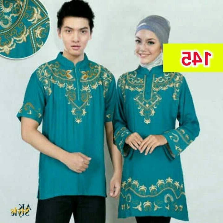 Design Baju Lebaran Untuk Pria Gdd0 Jual Beli Baju Muslim Couple Pria Wanita Koko Gamis