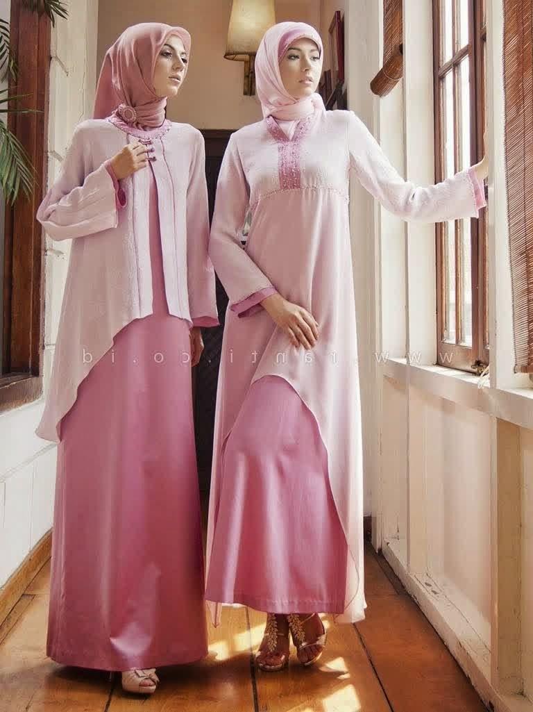 Design Baju Lebaran Wanita 4pde Gamis Modern 768×1025