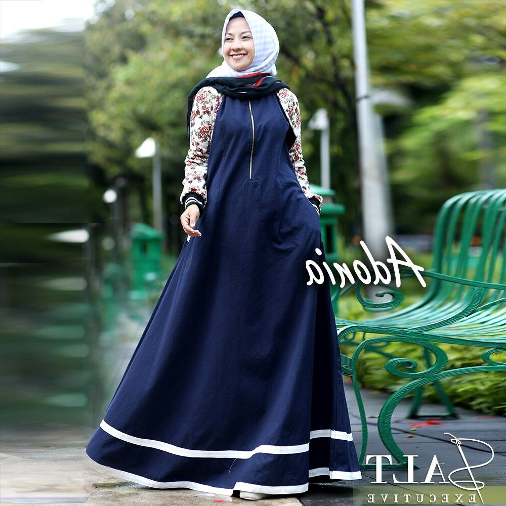 Design Baju Lebaran Wanita Mndw 30 Model Baju Gamis Terbaru Lebaran Remaja Fashion