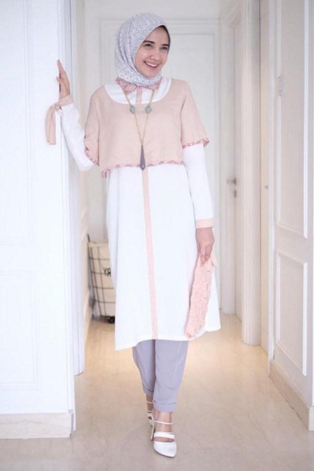 Design Baju Lebaran Zaskia Sungkar 3id6 Bingung Baju Buat Lebaran Intip Ootd Hijab Zaskia Sungkar